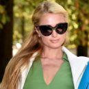 Paris Hilton Valentino Ss 2015 Fashion Show In Paris