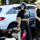 Lucy Hale in Black Crop Top – Out in Los Angeles