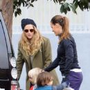 Teresa Palmer spotted in Los Angeles, California on January 10, 2017 - 454 x 562
