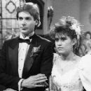 Nancy McKeon and Scott Bryce