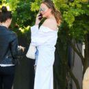 Chrissy Teigen seen leaving a spa in West Hollywood, California on March 31, 2017 - 391 x 600