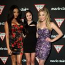 Ashley Benson and Shay Mitchell attended the GUESS and Marie Claire exclusive dinner in support of Save The Children at GUESS Flagship Boutique, November 10, Beverly Hills