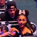 Ariana Grande and her Fiance Pete Davidson at Disneyland - 454 x 681