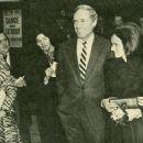 Mel Ferrer and Elizabeth Soukutine wedding at Caxton Hall in London on February 18, 1971