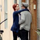 Evan Rachel Wood kissing Jamie Bell in LA (July 5)