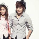 Kim Joon and Gook Ji Yun  photoshoots for Omphalos' 2009 - 454 x 454