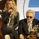 Shakira Joins Her Dad for Bogota Book Promotions