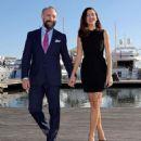 Bergüzar Korel  & Halit Ergenç : 'Vatanim Sensin' press conference in Cannes - 454 x 514