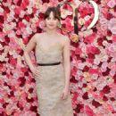 Felicity Jones – Cle de Peau Beaute Celebrates the Brand Relaunch in LA - 454 x 682