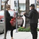 David Spade is spotted out and about with his girlfriend in Beverly Hills, California on January 9, 2017 - 454 x 536