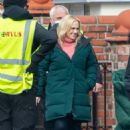 Rebel Wilson – on the set of 'The Almond And The Sea Horse' in Wrexham
