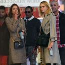Cara Delevingne and Ashley Benson – Leaves Broadway show 'Jagged Little Pill' in NY