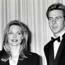 Michelle Pfeiffer and Dennis Quaid attends The 61st Annual Academy Awards (1989)