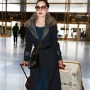 Dita Von Teese departing on a flight at LAX airport in Los Angeles, California on March 22, 2015 - 420 x 600