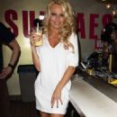 Pamela Anderson Launches Vegan Milkshake