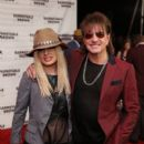 Orianthi and Richie Sambora attend the 2015 Barnstable Brown Kentucky Derby Eve Gala at the Barnstable Brown House on May 1, 2015 in Louisville, Kentucky.