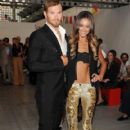 Kellan Lutz and Sharni Vinson - 419 x 631