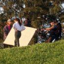 Vanessa Hudgens – Filming a sportswear ad in Los Angeles