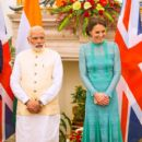 Duchess Catherine & Prince William met with Narendra Modi