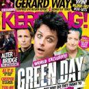 Green Day - Kerrang Magazine Cover [United Kingdom] (8 October 2016)