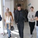 Carlson Young at Bloody Weekend Convention in São Paulo with Daniel Sharman 8/27/2016 - 454 x 681