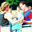 Princess Diana, Prince William with James Hewitt