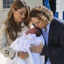 Elena Tablada, David Bisbal, and baby girl Ella