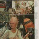 Brigitte Bardot - Vecko Journalen Magazine Pictorial [Sweden] (12 July 1972) - 454 x 473