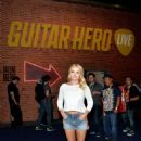 Emily Osment Guitar Hero Live Booth At E3 In La