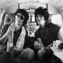 Ron Wood with Keith Richards