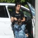 Camila Cabello in Long Skirt – Out and about in Hollywood