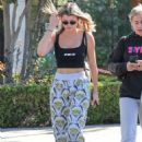 Sofia Richie – Out and about in Calabasas