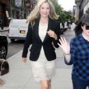 Mira Sorvino – Arrives at the AOL BUILD series in NYC