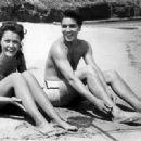 Joan Blackman and Elvis Presley