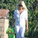Pamela Anderson Out And About In Malibu, 2007-10-01