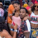 Lashontae Heckard and Brandon Jennings - 454 x 428