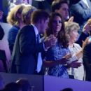 Kate Middleton and Prince Harry pictured at the 2012 London Olympic Games closing ceremony (August 12)