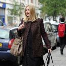 Fearne Cotton: leaving work in London