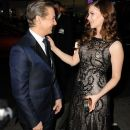 Pihla Viitala and Jeremy Renner on The Premiere of the movie Hansel & Gretel: Witch Hunters (2013) - 389 x 594