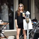 Selma Blair in Black Shorts – Shopping in Los Angeles - 454 x 582