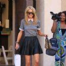 Paris Hilton Shopping In Los Angeles