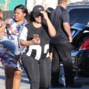 Blac Chyna and Kourtney Kardashian at The Pumpkin Patch in Los Angeles, California - October 14, 2016 - 454 x 652