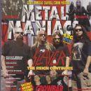Dave Lombardo, Tom Araya, Kerry King & Jeff Hanneman