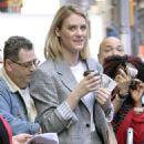 Mackenzie Davis – Arrives at 'Good Morning America' in New York