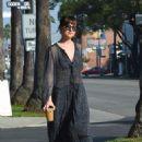 Dakota Johnson – Grabbing iced coffee in Hollywood