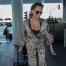 Melanie Brown – Arriving at Lax Airport In Los Angeles