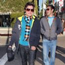 Kiowa Gordon Walks in Beverly Hills (December 8, 2009 - Photo by PacificCoastNews.com)
