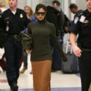 Victoria Beckham at JFK Airport in NYC - 454 x 613