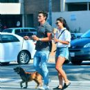 July 25, 2017 - Danielle Campbell and Gregg Sulkin out and about in Los Angeles, CA - 454 x 518