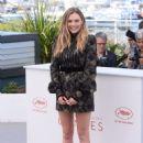 "Elizabeth Olsen – ""Wind River"" Photocall at Cannes Film Festival 05/20/2017"